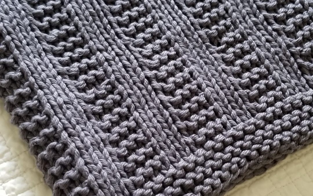 Darby Knitted Baby Blanket