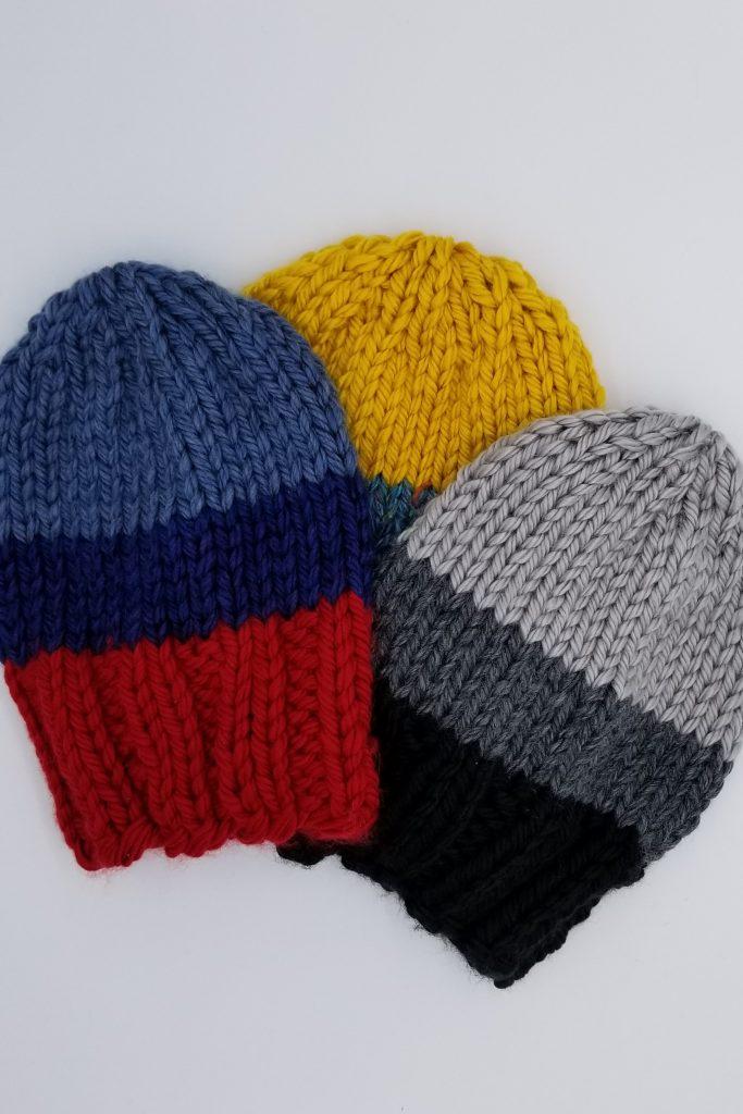 Longview Knitted Hat Pattern