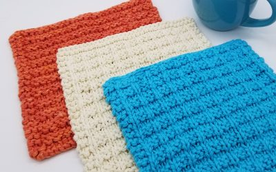 Ellendale Dishcloth Knitting Pattern