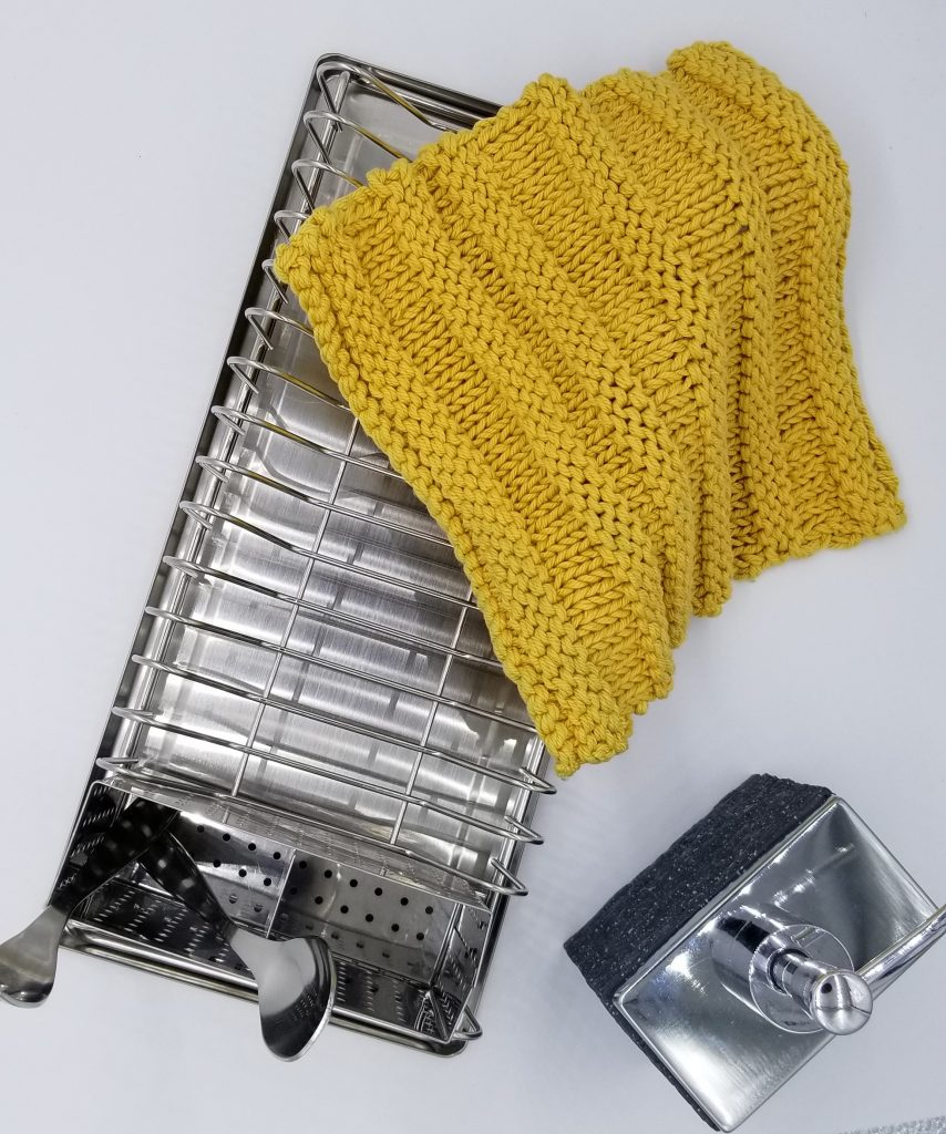 Northwood Knitted Dishcloth Pattern