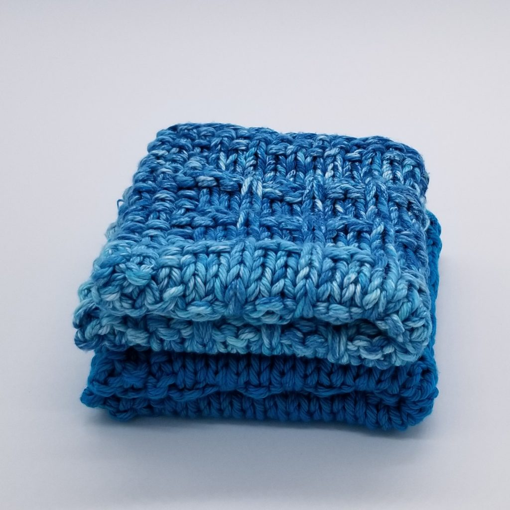 Winwood Knitted Dishcloth & Washcloth Pattern