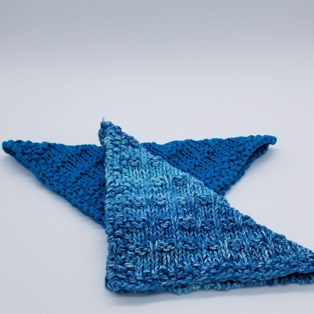 Winwood Knitted Dishcloth & Washcloth Pattern