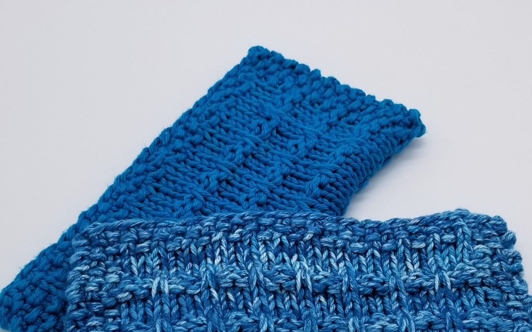 Winwood Knitted Dishcloth Pattern Instant PDF Download