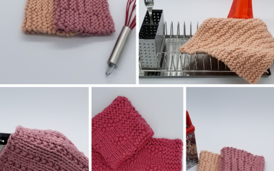 Why Bother Blocking Knitting?  It's Just a Dishcloth!