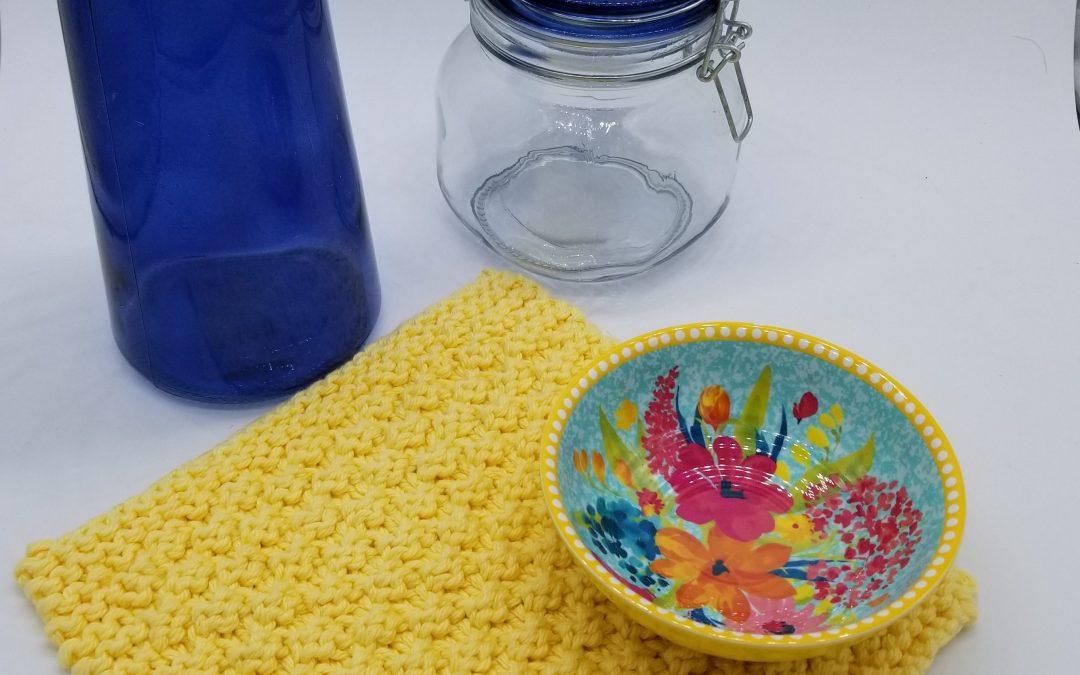 Adako dishcloth knitting pattern