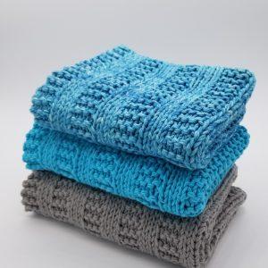 Blue Ridge Hand Towel Knitting Pattern