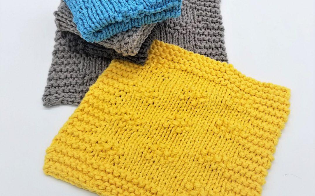 Drexel knitted dishcloth pattern