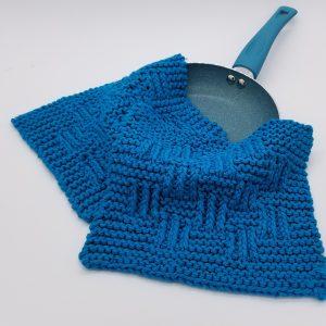 Elk Creek Knitted Dishcloth Pattern
