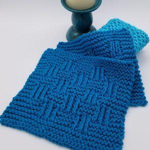 Elk Creek Knitted Washcloth Pattern