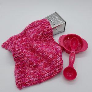 Midway Dishcloth and Washcloth Knitting Pattern